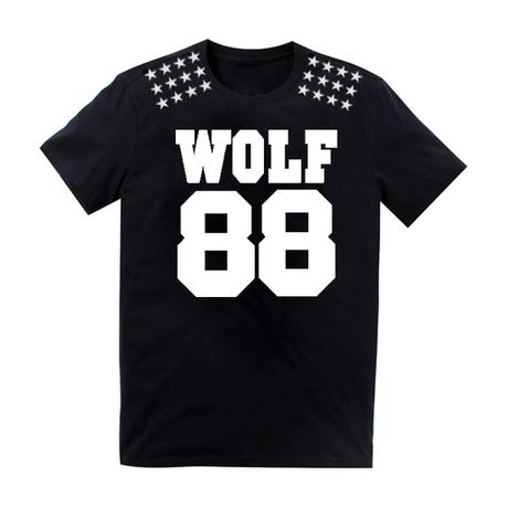 T-shirt EXO XOXO WOLF88 black Size L