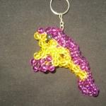 """พวงกุญแจปลาพะยูน #MNN009 ขนาด4.5"""""""