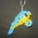 """พวงกุญแจปลาพะยูน #MNN005 ขนาด4.5"""""""