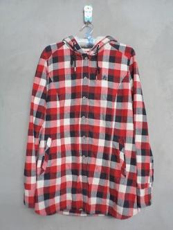เสื้อคลุมแฟชั่นเกาหลีลายสก็อต