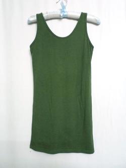 เสื้อกล้ามแฟชั่นสีเขียว
