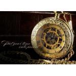 นาฬิกาล็อคเก็ต แบบ Mechanical watch โชว์กลไก สร้อยคอนาฬิกา สีทอง ไม่ต้องใส่ถ่าน ของขวัญให้แฟน สุดหรู มีราคา 957688
