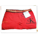 กางเกงในชาย บ๊อกเซอร์ ck สีแดง A006