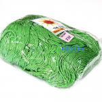 เชือกร่ม (500 กรัม) #732 (สีเขียวใบตอง ดิ้นเงิน)