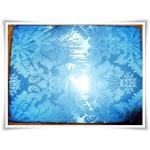 ผ้าแพร ผ้าห่มอย่างดี สีฟ้า
