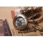 นาฬิกาล็อคเก็ต สร้อยคอนาฬิกา สไตล์ คลาสสิค ด้านปิด ทำเป็นรูป นกไฟ ในเรื่อง The hunger games สินค้าลดราคา พิเศษ no 5004899