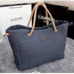 กระเป๋าถือ กระเป๋าสะพาย ผ้าแคนวาส หรือ ผ้ายีนส์ ใบใหญ่ ใส่ของได้เยอะ ดีไซน์สวย ใช้ได้กับทุกงาน ใส่ของกระจุก กระจิก ได้เยอะ ปากกว้าง มีซิปปิด 420336