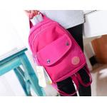 กระเป๋าเป้ กระเป๋าสะพายหลัง Backpack ผ้าไนลอน สีสวย สายสะพาย มีซิป สามารถทำเป็น เส้นเดียว หรือ แยกได้ กระเป๋าใส่เสื้อผ้า เที่ยวทะเล น่ารัก ๆ 541849