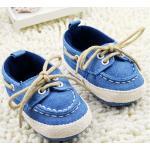 รองเท้าเด็ก อายุ 6-18 เดือน รองเท้าเด็กเล็ก รองเท้ายีนส์ สีฟ้า น่ารัก ๆ สไตล์ ลูกคุณหนู ใส่เข้ากับ ชุดเดรส ใส่เที่ยว น่ารักสุด ๆ 92351