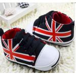 รองเท้าผ้าใบ เด็กเล็ก เด็กผู้ชาย เด็กผู้หญิง รองเท้าเด็ก ลายธงชาติ อังกฤษ สีน้ำเงิน สีแดง ตัดกับสีน้ำเงิน ดูโดดเด่น แบบเท่สุด ๆ 14301_8
