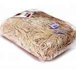 เชือกร่ม (500 กรัม) #901 (สีขาว ดิ้นทอง)