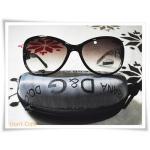 แว่นตากันแดด สีชา D and G B004