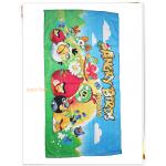 ผ้าขนหนู ผ้าเช็ดตัว ลาย ฝูงนก Angry bird บนสนามหญ้า ตัวการ์ตูน ยอดฮิต ผ้าเช็ดตัว เด็ก น่ารัก ลดราคา an001