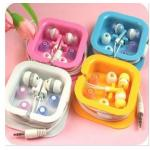 หูฟัง อย่างดี สำหรับ ฟัง iPod MP3 MP4 iPhone 5 4 4S 3 3S สินค้านำเข้าเกาหลี มีจำนวนจำกัด no 21778