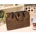 กระเป๋าถือ แฟชั่นหนัง ลายหนังเสือ Leopard กระเป๋าสะพายข้างผู้หญิง กระดุม รูปตัว H กระเป๋าแฟชั่น จุของได้เยอะ no 36236_1