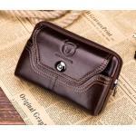 กระเป๋าคาดเอว หนังแท้ กระเป๋าใส่โทรศัพท์ แบบคาดเอว ร้อยเข็มขัด แนวนอน กระเป๋าสตางค์คาดเอว เท่ ๆ 282052