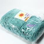 เชือกร่ม (500 กรัม) #915 (สีฟ้าทะเล ดิ้นทอง)