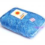 เชือกร่ม (500 กรัม) #733 (สีฟ้าคราม ดิ้นเงิน)