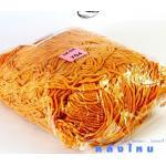 เชือกร่ม (500 กรัม) #704 (สีส้มอ่อน ดิ้นเงิน)