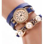 นาฬิกาสร้อยข้อมือไข่มุก นาฬิกาข้อมือสายหนัง นาฬิกาผู้หญิง แบบสวย ๆ ดูหรูหรา ผสมผสาน ความเท่ ได้อย่างลงตัว นาฬิกาข้อมือ เก๋ ๆ 330842