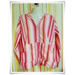 เสื้อกันหนาว เสื้อคลุม สีหวานโทนส้ม ผ้าสำลีอย่างหนา
