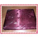 ผ้าแพร สีชมพูบานเย็น