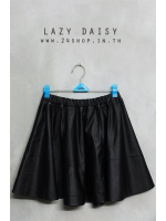 กระโปรงหนัง LAZY DAISY