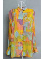 เสื้อเชิ้ตมือสอง CHEAP MONDAY ผ้าชีฟองไซส์ S