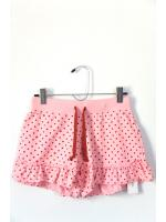 กางเกงขาสั้นสีชมพู