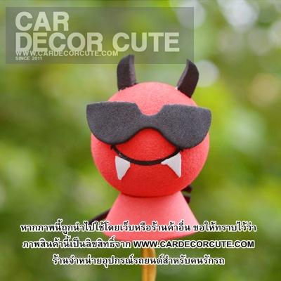 Antenna balls ลูกบอลน่ารักเสียบเสาอากาศรถยนต์ ลายการ์ตูน - แบบ E