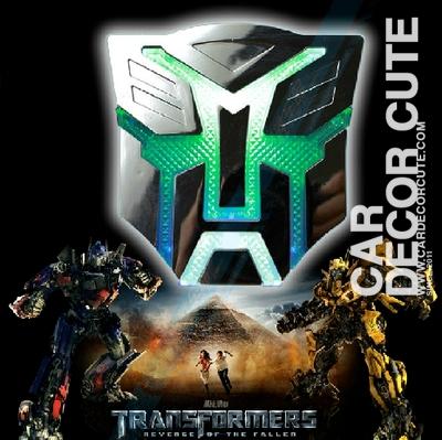 TRANSFORMER - โลโก้ทรานฟอร์มเมอร์ มีไฟ ติดรถ Logo Transformer ติดไฟท้ายรถ