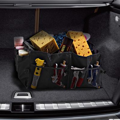 Storage box กล่องเก็บของพับเก็บได้ท้ายรถยนต์ 2 ช่อง - จัดเก็บเครื่องมืออุปกรณ์ ของอเนกประสงค์พับเก็บได้