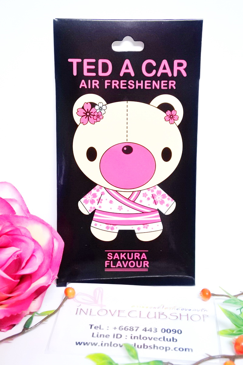 Ted A Car / Air Freshener (Sakura)