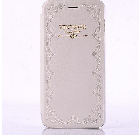 เคสหนัง เคส iPhone 6 4.7 สไตล์ วินเทจ สีขาว มีสเน่ห์ สวยหรู เคสแนว คลาสสิค แบบมีฝา เปิดปิดได้ แนว สวยเรียบ คงความหรูหรา 198616_4