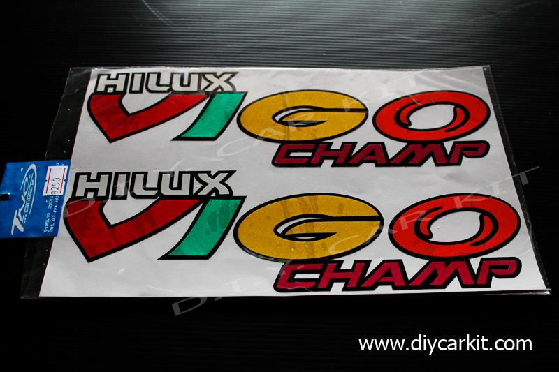 สติ๊กเกอร์สะท้อนแสงติดรถ Vigo Champ