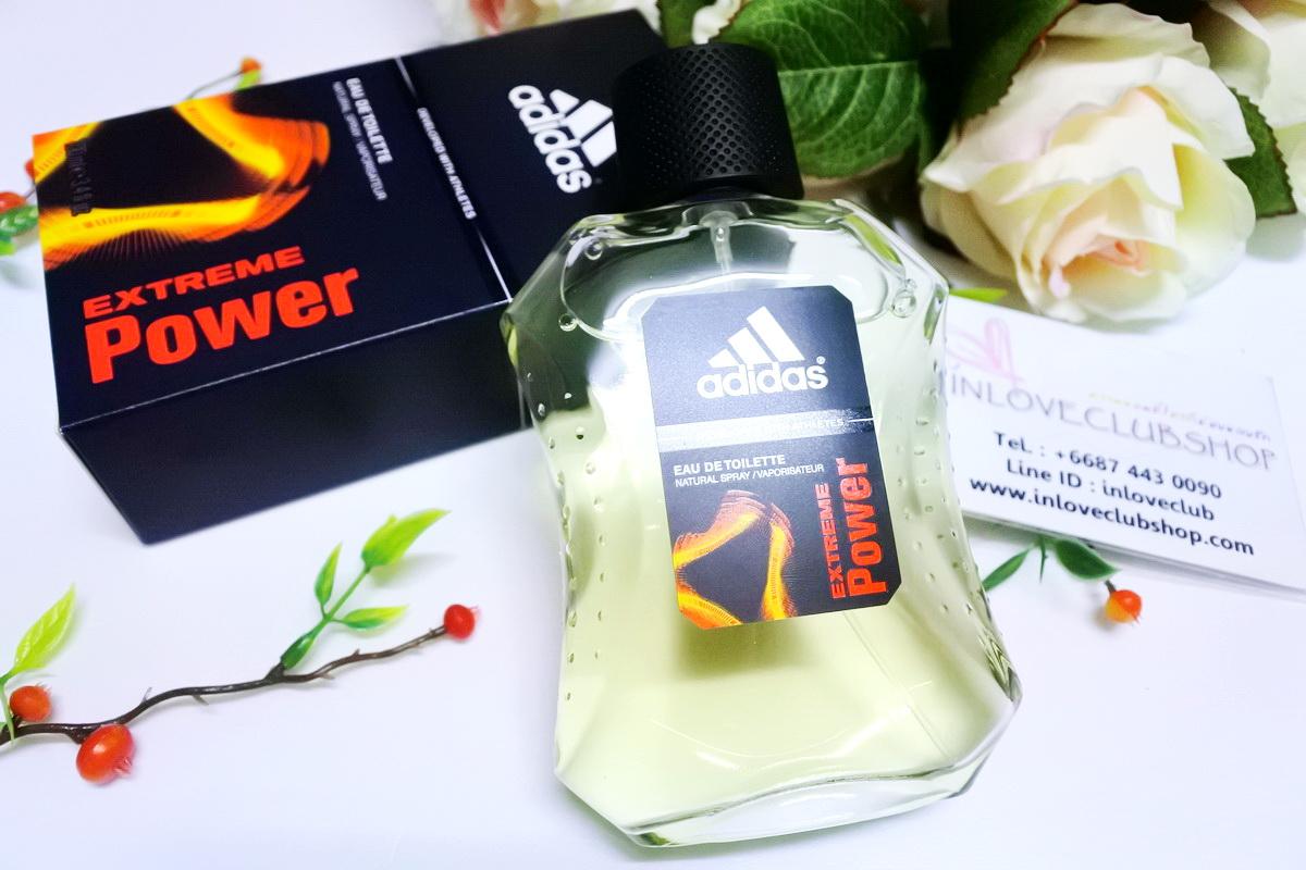 Adidas / Adidas For Men Eau de Toilette 100 ml. (Extreme Power) *ของแท้