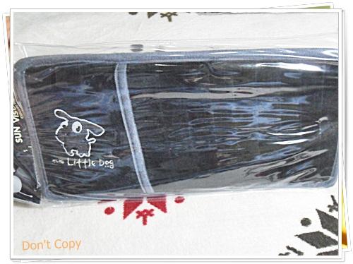 ที่ใส่แผ่นซีดี ติดที่บังแดดรถยนต์ Little Dog สีดำ