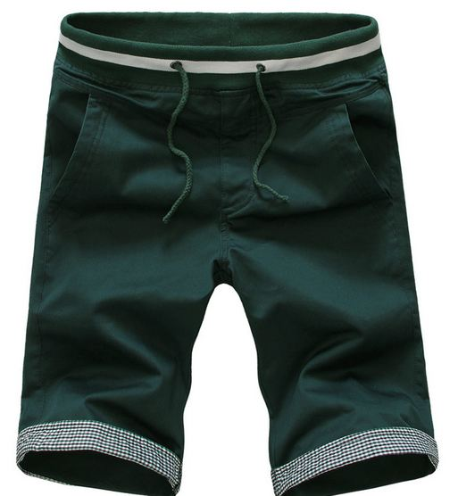 กางเกงขาสั้นผู้ชาย กางเกงขาสามส่วน กางเกงแฟชั่น สีเขียวเข้ม กางเกงผู้ชาย แบบยางยืด ใส่เที่ยว ใส่อยู่บ้าน แบบสวย มีสไตล์ ดูดีมากค่ะ 641470_6