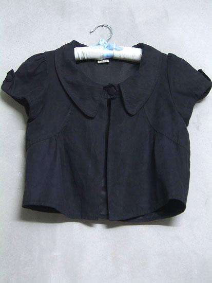 เสื้อคลุมครึ่งตัวสีดำ