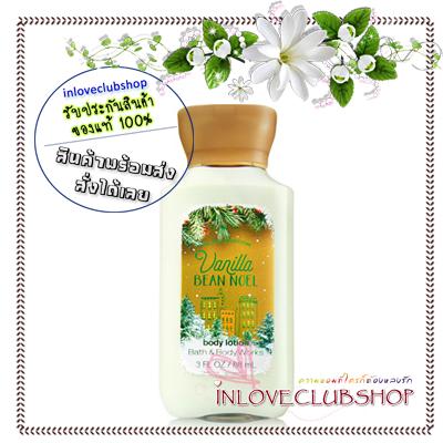Bath & Body Works / Travel Size Body Lotion 88 ml. (Vanilla Bean Noel) *Limited Edition