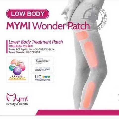 แผ่นแปะสลายไขมัน น่อง ขา แขนเล็ก ขาเรียว Mymi Wonder Patch # ให้คุณได้สัมผัสกับหุ่นเฟิร์มอีกครั้ง