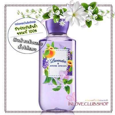 Bath & Body Works / Shower Gel 295 ml. (Lavender & Spring Apricot) *Limited Edition