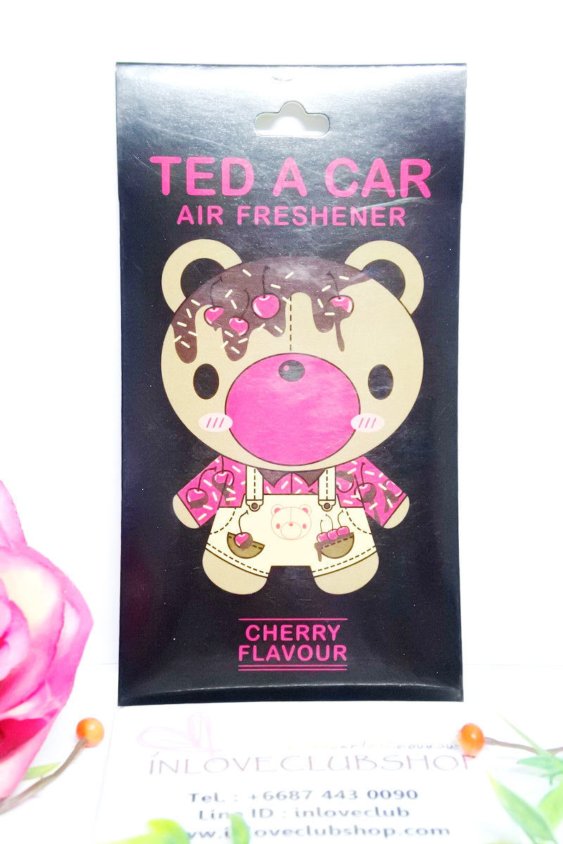 Ted A Car / Air Freshener (Cherry)