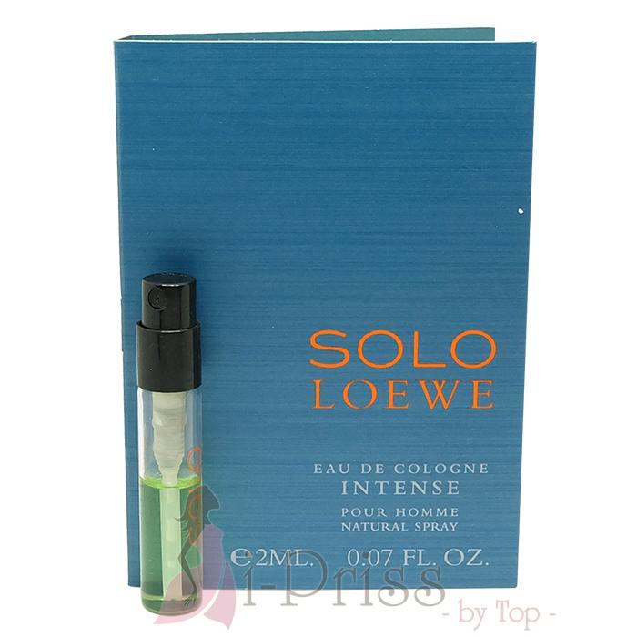 Loewe Solo Loewe (EAU DE COLOGNE) Intense