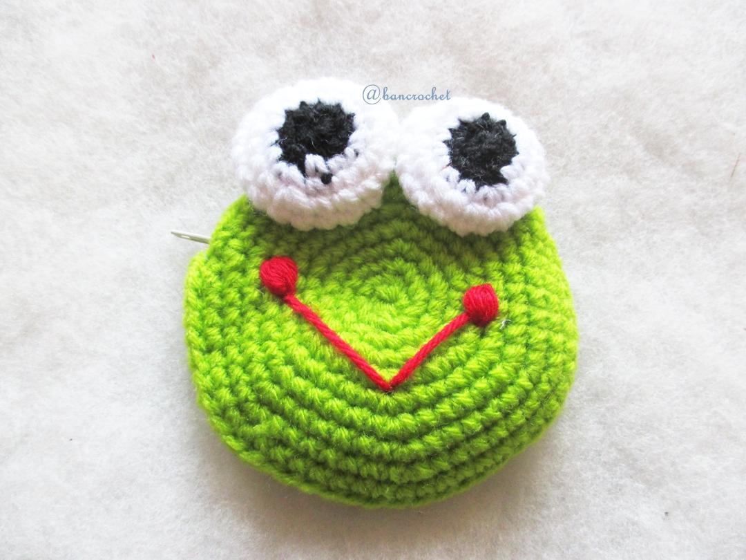 กระเป๋าใส่เหรียญคิเคโระถักโครเชต์ koro amigurumi crochet bag