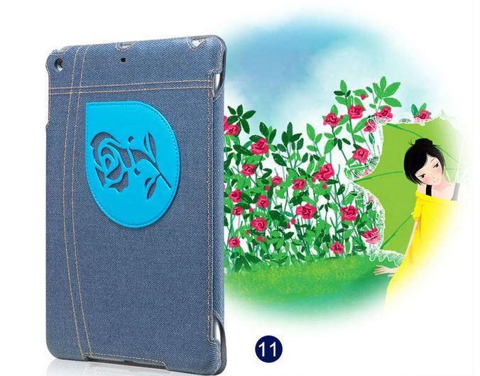 เคส iPad air 1 เคสยีนส์ แต่งลาย ดอกกุหลาบ สีฟ้า หวาน ๆ ดีไซน์ จากประเทศ อังกฤษ เคสแบบสวย ๆ จาก London เคสเปิดปิด อัตโนมัติ 396281_10