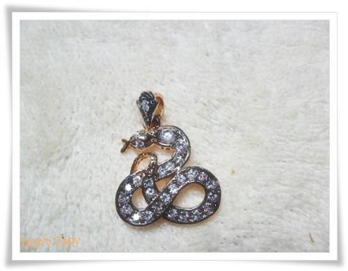 จี้ห้อยคอ ประจำราศีเกิด นักษัตร ปีมะเส็ง งูเล็ก