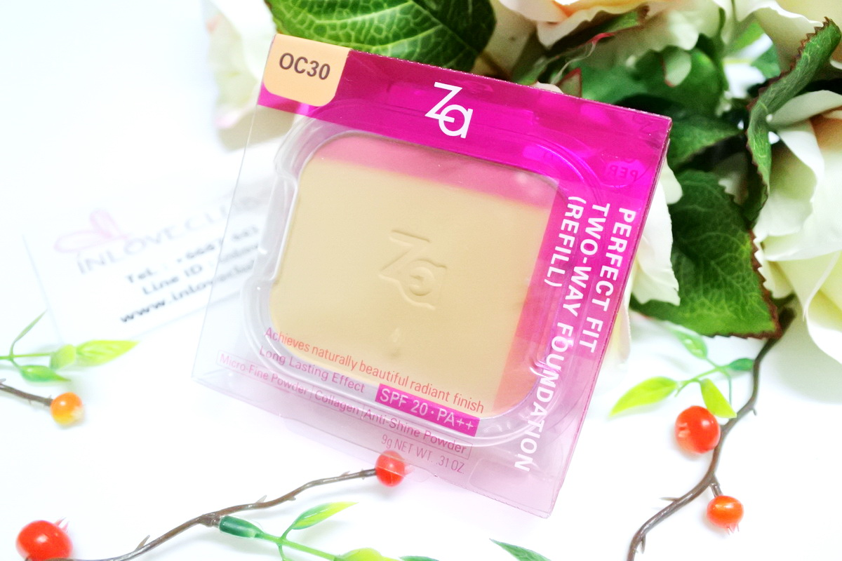 ZA / Perfect Fit Two-Way Foundation SPF20 PA++ (Refill #OC30)