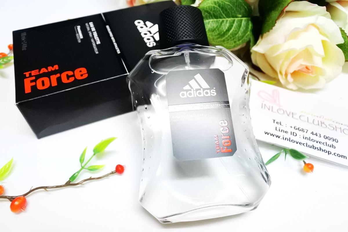 Adidas / Adidas For Men Eau de Toilette 100 ml. (Team Force) *ของแท้