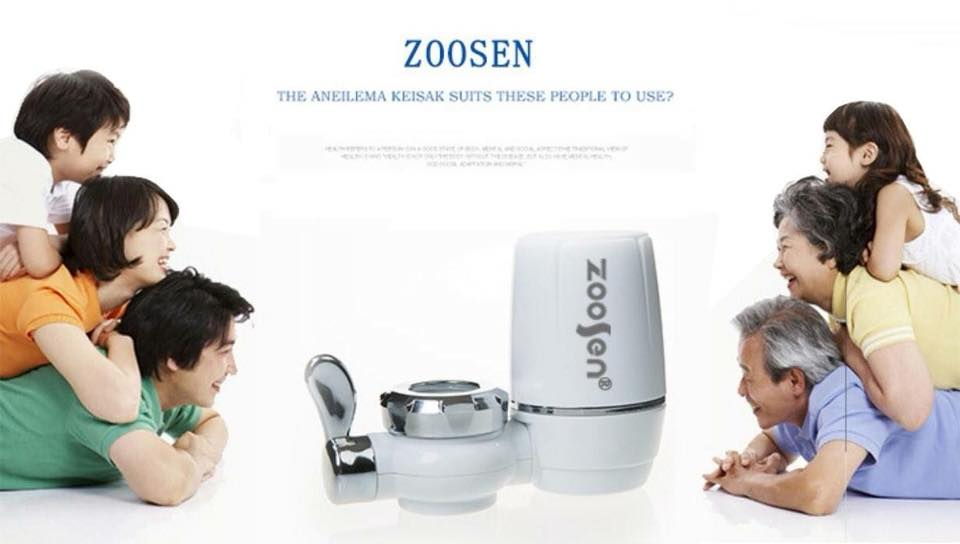 zoosen เครื่องกรองน้ำขนาดเล็กเหมาะสำหรับสถานที่ที่มีพื้นที่การใช้สอยน้อย